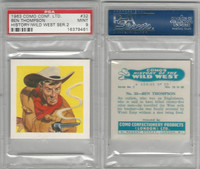 C0-0 Como, History Wild West, 1963, #32 Ben Thompson, PSA 9 Mint