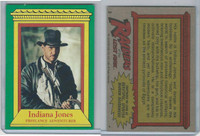 1981 Topps, Raiders Of The Lost Ark, #2 Indiana Jones