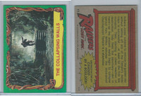 1981 Topps, Raiders Of The Lost Ark, #11 The Collapsing Walls