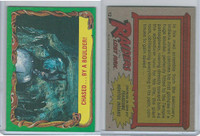 1981 Topps, Raiders Of The Lost Ark, #12 Chased By A Boulder