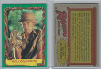 1981 Topps, Raiders Of The Lost Ark, #15 Belloq's Prize