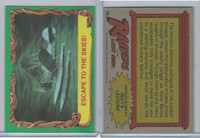 1981 Topps, Raiders Of The Lost Ark, #16 Escape To The Skies