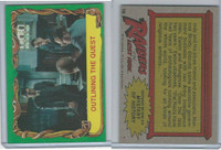 1981 Topps, Raiders Of The Lost Ark, #18 Outlining The Quest