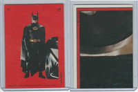 1989 Topps, Batman Movie Sticker, #17 Batman