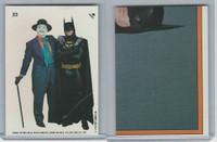 1989 Topps, Batman Movie Sticker, #23 Batman & Joker