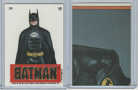 1989 Topps, Batman Movie Sticker, #24 Batman