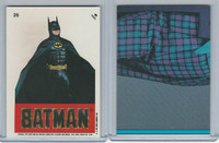 1989 Topps, Batman Movie Sticker, #26 Batman