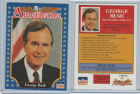 1992 Starline, Americana, #1 George Bush