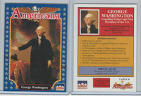 1992 Starline, Americana, #10 George Washington