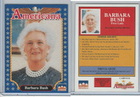 1992 Starline, Americana, #111 Barbara Bush