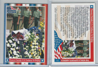 2001 Topps, Enduring Freedom, #11 Flowers Outside US Embassy Beijing
