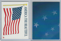 2001 Topps, Enduring Freedom Sticker, #3 America The Beautiful