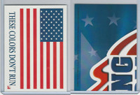 2001 Topps, Enduring Freedom Sticker, #6 These Colors Don't Run