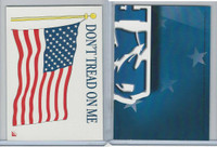 2001 Topps, Enduring Freedom Sticker, #7 Don't Tread On Me