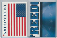 2001 Topps, Enduring Freedom Sticker, #8 Old Glory