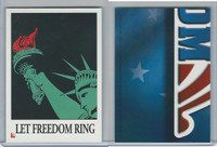 2001 Topps, Enduring Freedom Sticker, #9 Let Freedom Ring