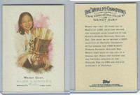 2006 Topps History Cards, Allen & Ginter, #306 Wendy Guey