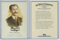 2006 Topps History Cards, Allen & Ginter, #338 Orville Wright