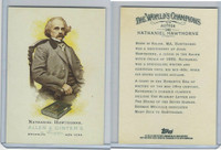 2006 Topps History Cards, Allen & Ginter, #340 Nathaniel Hawthorne