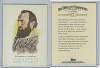 2006 Topps History Cards, Allen & Ginter, #342 Stonewall Jackson