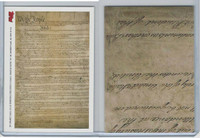 2006 Topps History Cards, US Constitution, Document Card