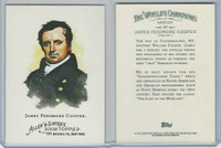 2008 Topps, Allen & Ginter Champions, #147 James Fenimore Cooper