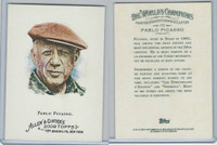 2008 Topps, Allen & Ginter Champions, #172 Pablo Picasso