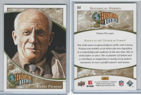 2009 Upper Deck, Historical Heroes, #341 Pablo Picasso