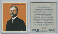 2009 Upper Deck, Nat. Chicle Philadelphia FB, #NC4 Henry Cabot Lodge