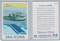 2009 Topps, National Chicle Era Icons, #EI-14 China Clipper