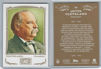 2009 Topps, Mayo Cut Plug, #56 Grover Cleveland, President