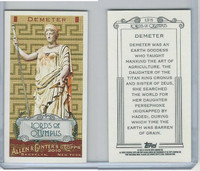2010 Topps, Allen & Ginter Lords of Olympus, #LO15 Demeter