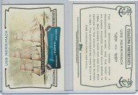 2011 Topps, Allen & Ginter Floating Fortresses, #FF9 USS Merrimack