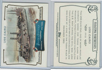 2011 Topps, Allen & Ginter Floating Fortresses, #FF15 USS Cairo