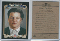 2012 Upper Deck, Goodwin Champions, #168 Pretty Boy Floyd, Gangster