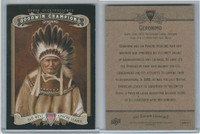 2012 Upper Deck, Goodwin Champions, #195 Geronimo, Apache Indian