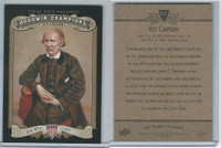 2012 Upper Deck, Goodwin Champions, #202 Kit Carson, Old West