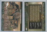 2012 Upper Deck, Goodwin Military Machines, #MM19 Willys Jeep
