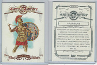 2013 Topps Allen & Ginter Martial Mastery, #MM-SP Spartans
