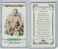 2013 Topps Allen & Ginter Mini First Americans, TFA-NV Navajo