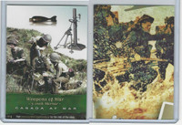 2014 Cardz, Canada At War, WWII, #104 3 Inch Mortar