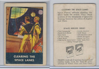 F280-3 Chex Cereal, Space Patrol, 1950's, Clearing The Space Lanes
