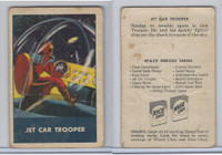 F280-3 Chex Cereal, Space Patrol, 1950's, Jet Car Trooper