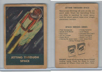 F280-3 Chex Cereal, Space Patrol, 1950's, Jetting Through Space