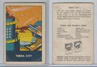 F280-3 Chex Cereal, Space Patrol, 1950's, Terra City