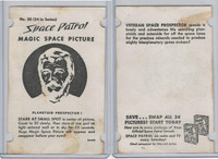 F280-2 Chex Cereal, Space Patrol Magic, 1950's, #20 Planetoid