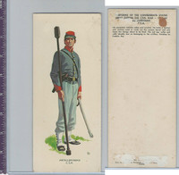 1960 LE Smith, Uniforms of Civil War, Artilleryman CSA