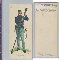1960 LE Smith, Uniforms of Civil War, Artilleryman USA