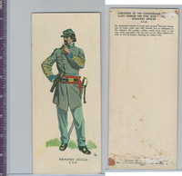 1960 LE Smith, Uniforms of Civil War, Infantry Officer CSA