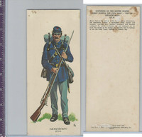 1960 LE Smith, Uniforms of Civil War, Infantryman USA